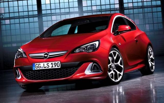 Opel Astra OPC i VW Up GT