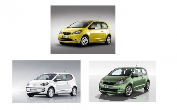 Seat Mii, Volkswagen Up!, Skoda Citigo
