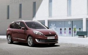 Renault Grand Scenic - facelifting