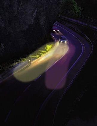 system inteligentnego oświetlenia - AFS