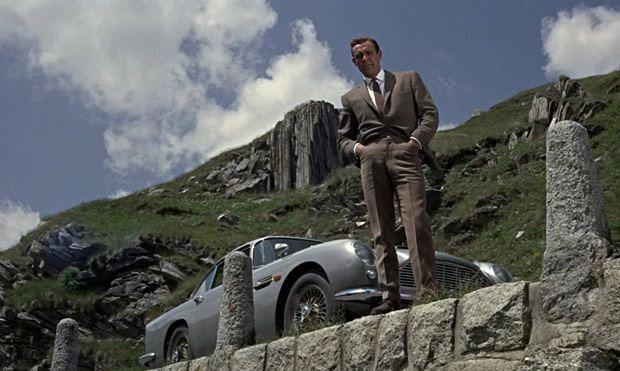 Aston Martin - Sean Connery