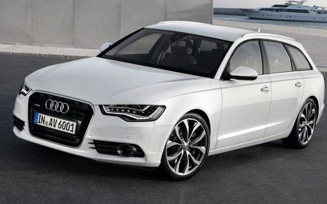 Audi A6 Avant - prosta, ale jakże piękna linia nadwozia