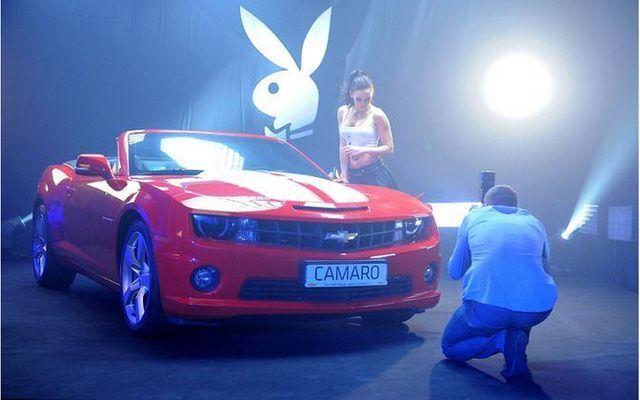 Chevrolet Camaro i Króliczki Playboya - zdjęcia