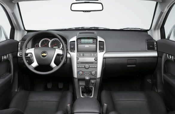 Captiva Chevrolet - wnętrze