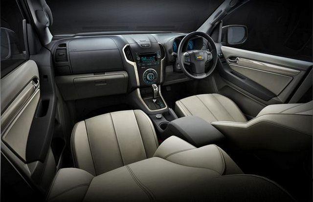 Chevrolet Triblazer-wnętrze