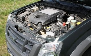 silnik 2.5 D - Isuzu D-max