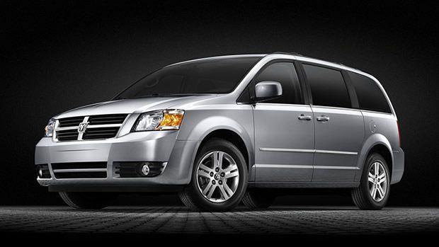 Dodge Grand Caravan po liftingu