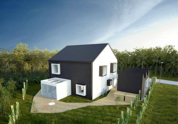 ekologiczny dom projektu One-Tonne-Life Volvo