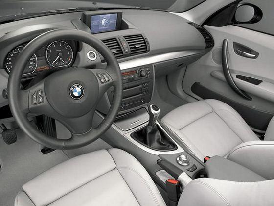 BMW 120d - wnętrze