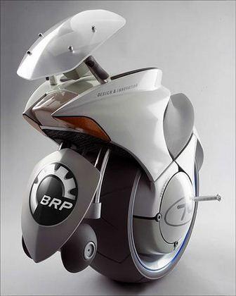 Jednokołowy pojazd Embrio Bombardier