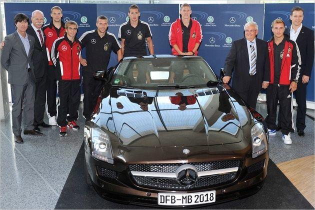 Kadra Niemiec i Mercedes