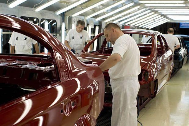 Fabryka FSO na Żeraniu - lakiernia