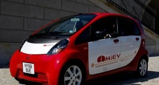 Mitsubishi i-MiEV z napędem elektrycznym