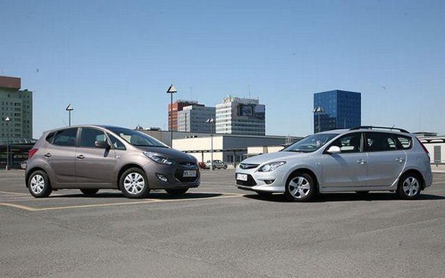 Dwa auta - dwie koncepcje