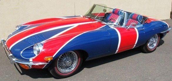 Jaguar e-type - Austin Powers