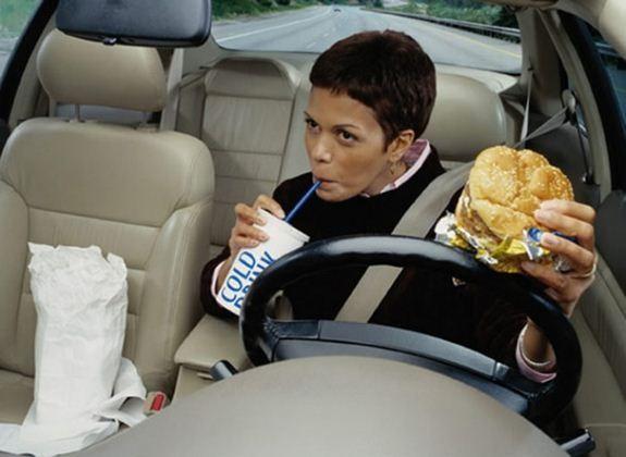 Fast food w samochodzie