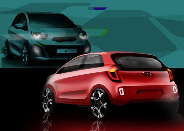 Kia Picanto - model 2012