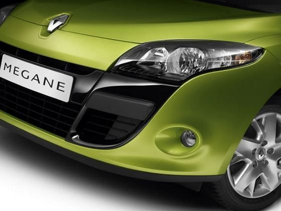 Renault Megane Coupe - color edition