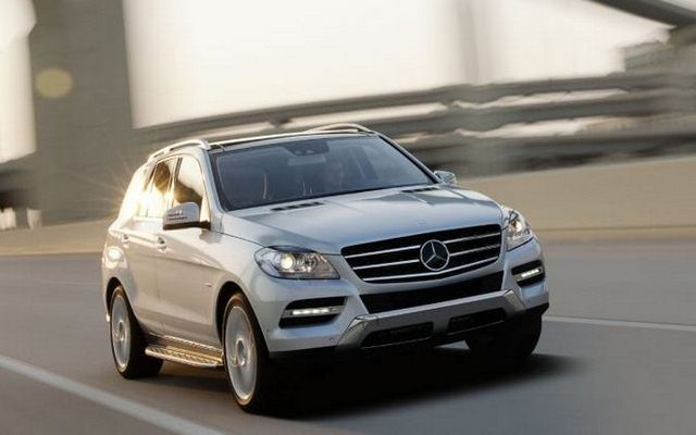 Nowy Mercedes ML