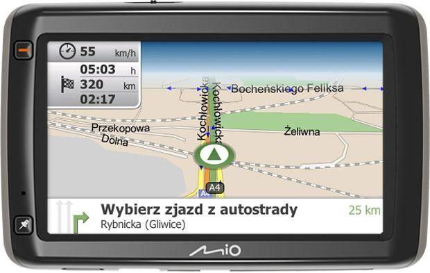 nawigacja GPS Mio Moov S600