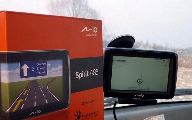 Test: Nawigacja Mio Spirit 485