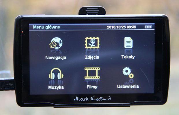 Lark Free Bird - menu główne