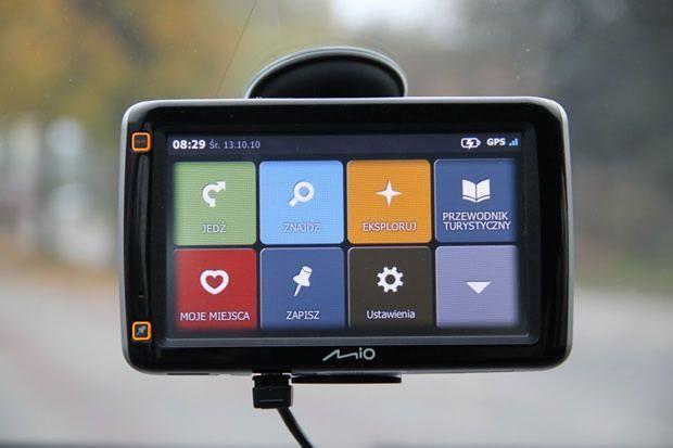 Mio S600 - menu główne
