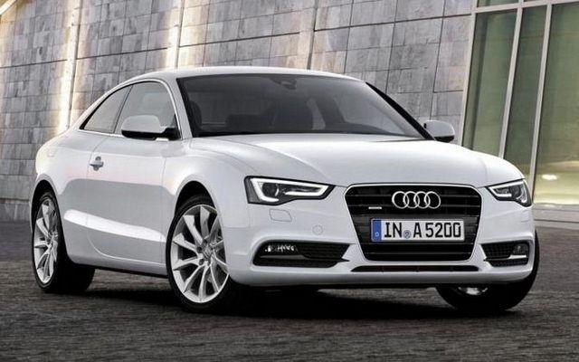 Nowe Audi A5 - agresywny przód i światła, przypominające oczy drapieżnika