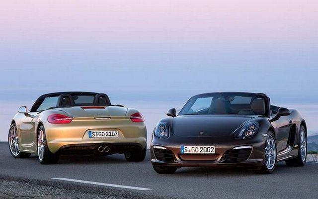 Porsche Boxter i Boxter S