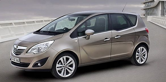 nowy Opel Meriva