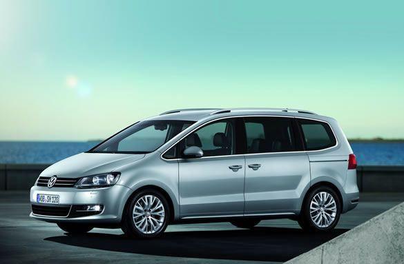nowy VW Sharan