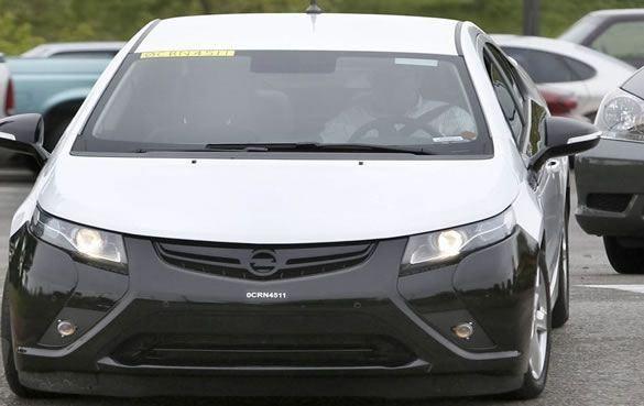 Hybrydowy Opel Ampera