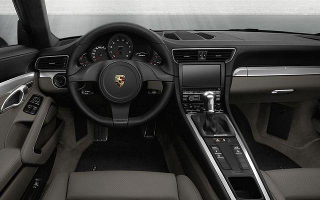 Nowe Porsche 911 - wnętrze