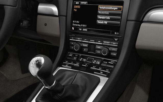 Nowe Porsche 911 - skrzynia biegów