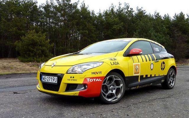 Renault Megane GT Robert Kubica