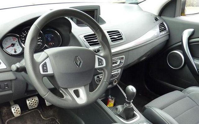 Renault Megane GT - wnętrze