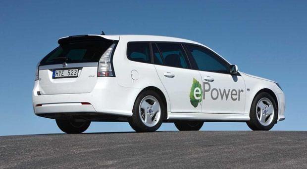 Saab 9-3 epower - pojazd elektryczny