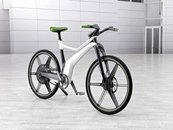 Smart ebike - rower