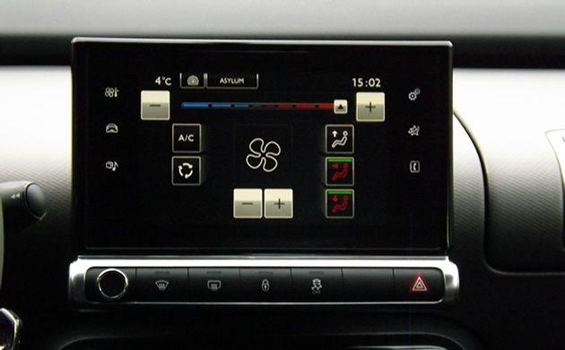 Citroen C4 Cactus ekran dotykowy