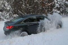 Start w kopnym śniegu