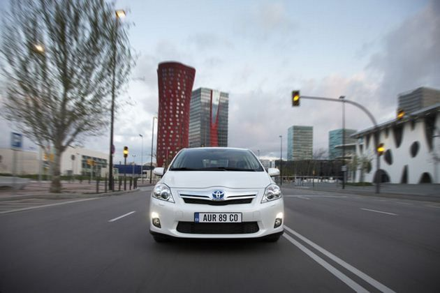 Toyota Auris - przód