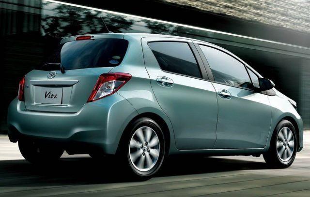 Toyota Yaris po faceliftingu