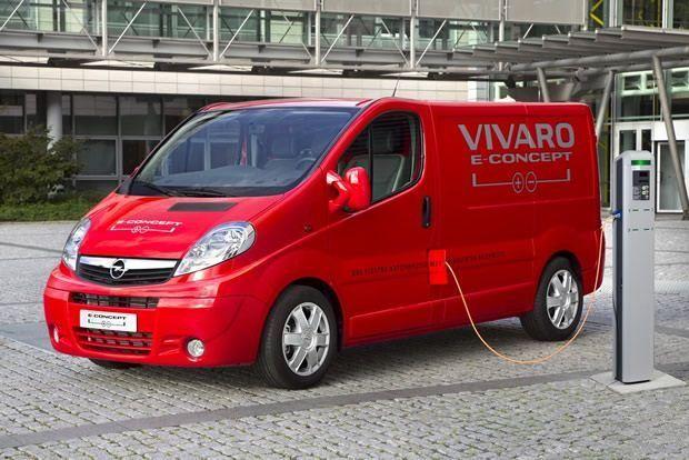 Opel Vivaro e-concept - pojazd elektryczny