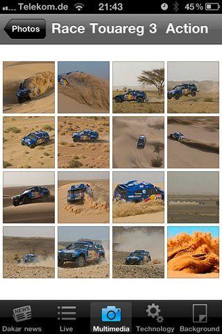 Volkswagen - Dakar Rally Mobile