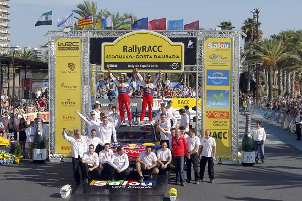 rajd Hiszpanii WRC - Citroen