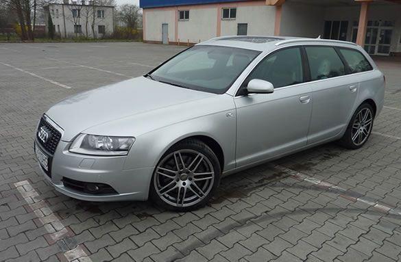 Test Audi A6 4.2 FSI V8