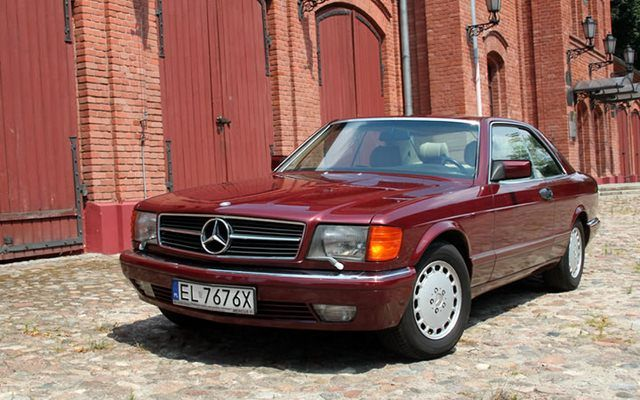 Mercedes 560 SEC - test