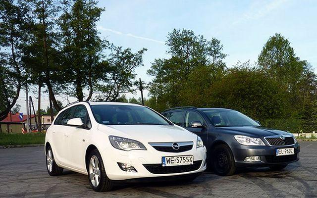 Test: Opel Astra 1.4 Trubo vs. Skoda Octavia 1.4 TSI