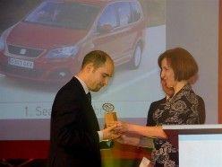 SEAT Alhambra - Auto Rodzinne - Kobiece Auto Roku 2011