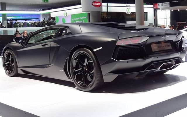 Lamborghini Aventador w wersji LP700-4